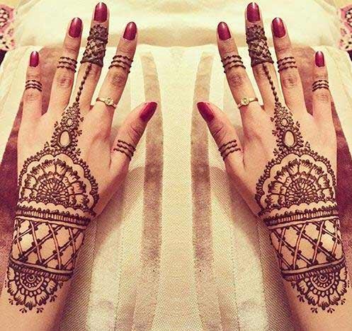 Cuff Mehndi Design